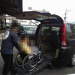 障がい者支援施設I.winの送迎車